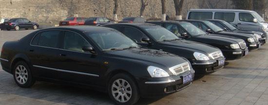 車付き通訳の使用車両