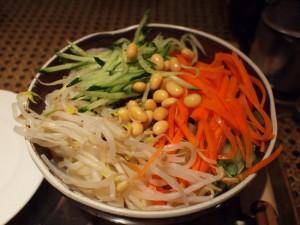 刀削麺タイプのジャージャー麺